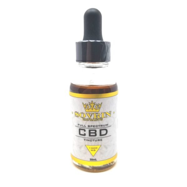 Sovrin Extracts Full Spectrum CBD Oil Tincture - 1000MG