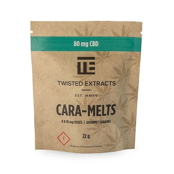 Twisted Extracts Cara-Melts – 80mg CBD