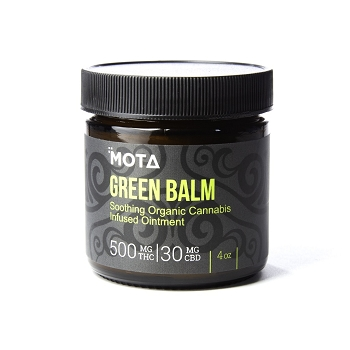 MOTA Green Balm – 500mg THC / 30mg CBD (4oz)