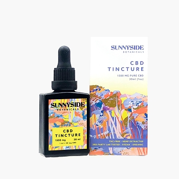 SunnySide Botanicals CBD Tincture 1500mg - 30ML